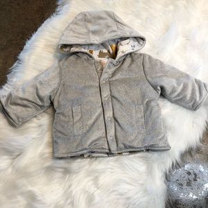 Wonder Nation Size 0-3 Month reversible coat
